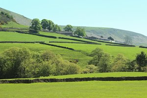 Countryside Green Hill England
