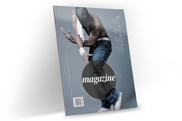 Magazine Template InDesign 13