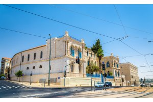 St. Louis French Hospital in Jerusalem, Israel
