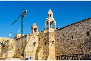 The Church of the Nativity in Bethlehem, Palestine