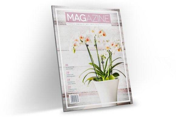 Magazine Template InDesign 16