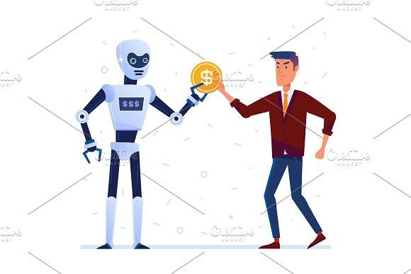 Robot Steals Money From Sad Man