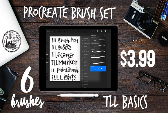 TLL Basics Procreate Brush Set