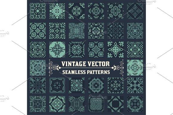 36 Seamless Patterns Background