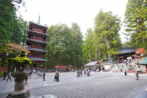 Nikko Toshogu Shrine temple