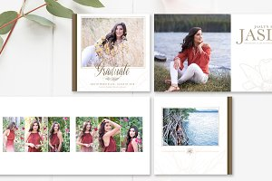 10x10 Senior Album Template