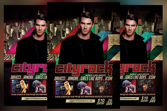 City Rock Flyer