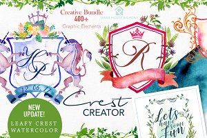 Crest Creator - Creative Bundle Set