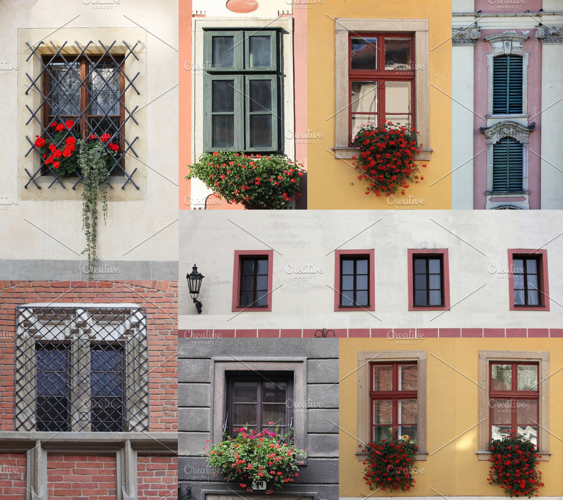 windows (collage)