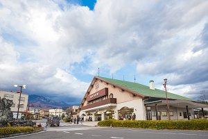 Nikko train station.