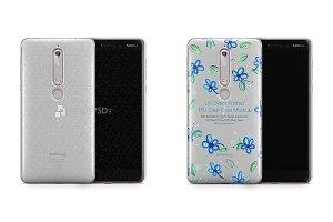 Nokia 6 2018 UV TPU Clear Case