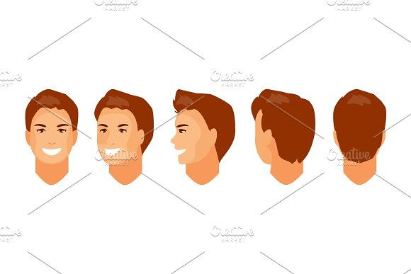 Man Head Animation