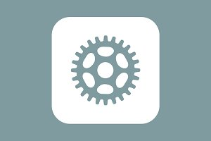 6 Settings and Cog Icons
