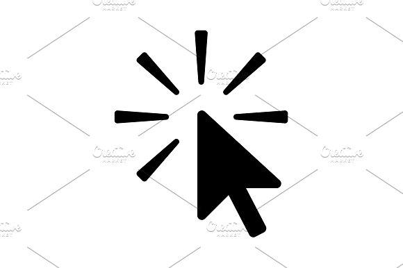 Click Icon Vector Illustration