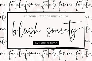 Blush Society // Editorial Vol.10