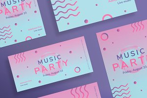 Flyers | Pink Music Party