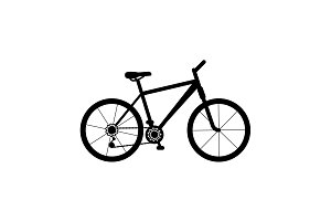 bicycle icon. illustration
