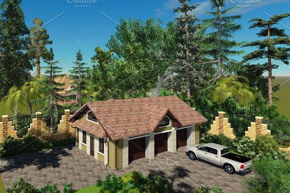 3D Visualization Garage