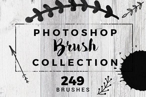 249 Photoshop Brushes