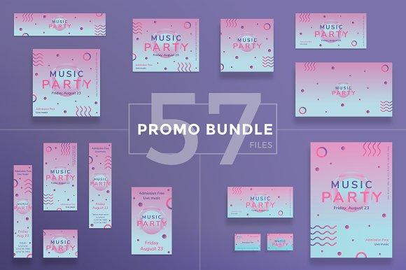 Promo Bundle Pink Music Party
