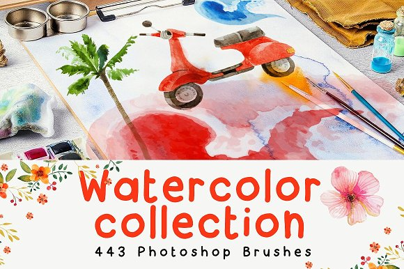 443 Photoshop Brushes