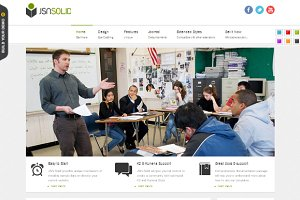 JSN Solid - Joomla Education Theme