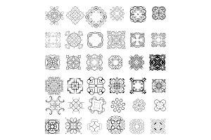 Ornaments elements