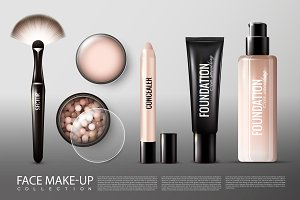 Foundation Cosmetology Products Set