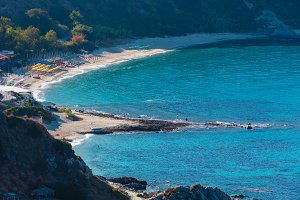 Tyrrhenian sea coast, Calabria