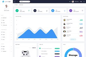 AdminLab - Bootstrap Dashboard