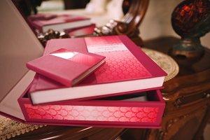 wedding photo book and album