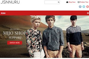 JSN Nuru - Joomla E-commerce Theme