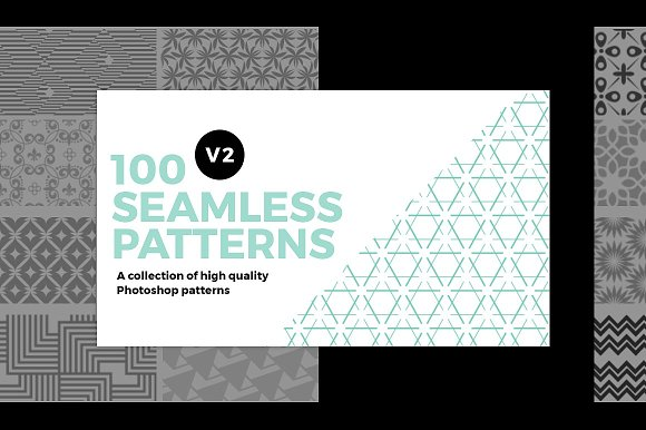 100 Seamless Photoshop Patterns V2
