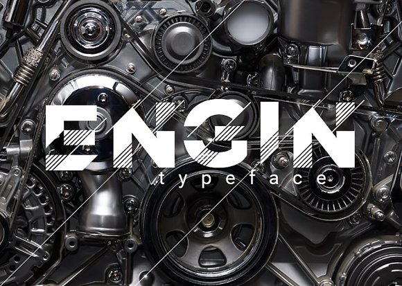 Engin Typeface