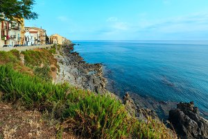 Cefalu town view Sicily, Italy