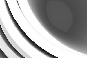 Black and white lens closeup design element background