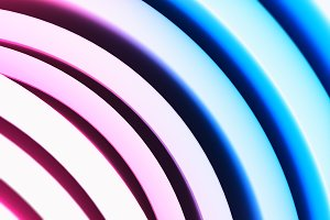 Pink and purple abstract curves illustration background