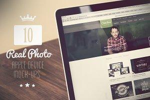 10 Real Photo Apple Device Mock-Ups