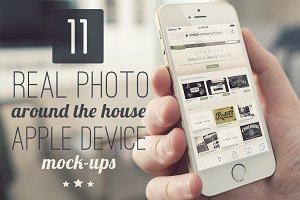 11 Around the house Apple Mock-ups