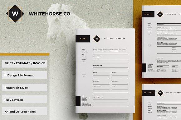 Brief Estimate Invoice Whitehorse