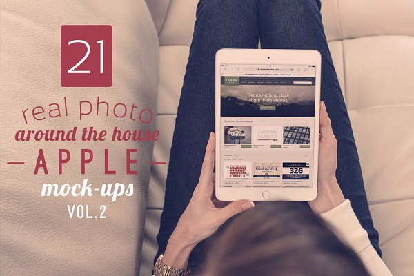 21 Around The House Mock-ups Vol.2
