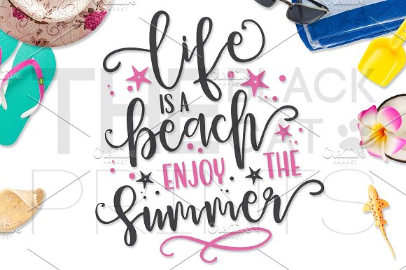 Life Is A Beach Enjoy The Summer SVG