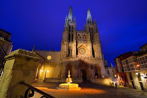 Burgos Cathedral in Spain.