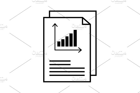 Report Text File Icon Document