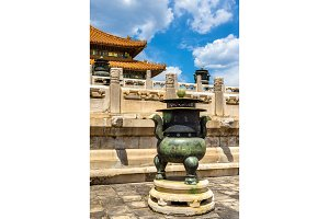 Decorations of the Forbidden City - Beijing