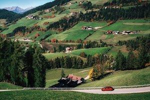 Roadtrip in Alps