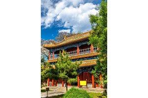 Pavilion in the Beihai park - Beijing, China.