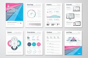 Infographic Brochure Elements 7
