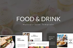 Food & Drink Multipurpose Keynote