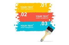 Vector brushes option banner